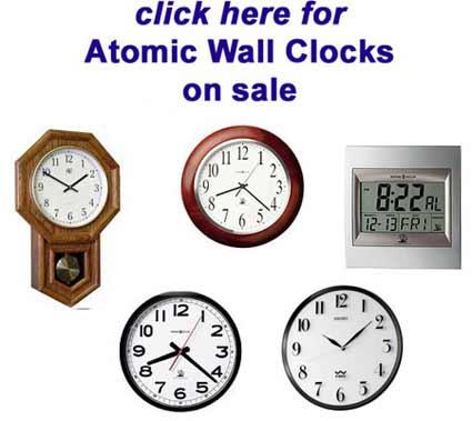 Atomic Clock Sale