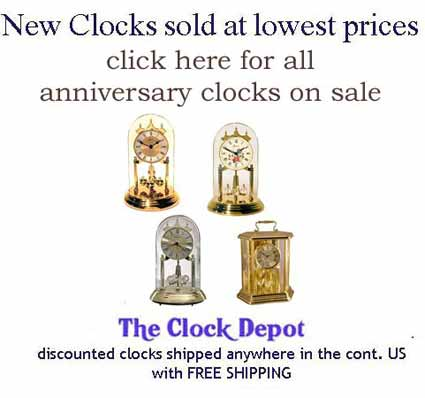 See our full selection of Anniversary Clocks on sale