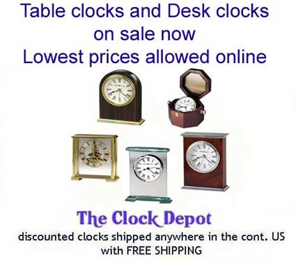 Seiko Qhg355glh Modern Gimballed Desk Clock The Clock Depot