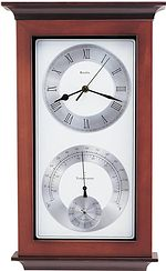 Bulova C3760 Time, Temperature and Hygrometer Clock CLICK FOR MORE DETAILS