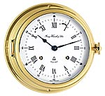 Hermle 35065-000132 Captain's Keywound Ships Bell Clock CLICK FOR MORE DETAILS
