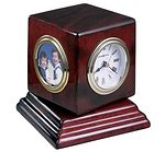 Howard Miller Reuben 645-408 Desk Clock - Photo Frame Clock CLICK FOR MORE DETAILS