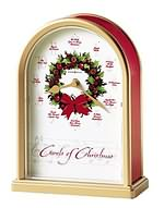 Howard Miller Carols of Christmas II 645-424 Christmas Clock CLICK FOR MORE DETAILS