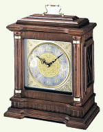 Seiko QXJ004BLH Oak Carriage Mantel Clock CLICK FOR MORE DETAILS