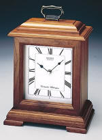 Seiko QXJ102BC Cherry Carriage Mantel Clock CLICK FOR MORE DETAILS