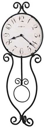 Howard Miller Loretta 625-297 Antique Iron Wall Clock CLICK FOR MORE DETAILS