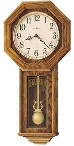 Howard Miller Ansley 620-160 Schoolhouse Wall Clock with Chimes CLICK FOR MORE DETAILS