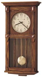 Howard Miller Ashbee II 620-185 Mission Style Wall Clock CLICK FOR MORE DETAILS