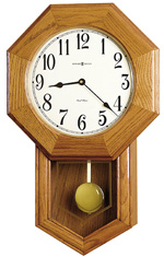 Howard Miller Elliott Model 625-242 Chiming School House Wall Clock CLICK FOR MORE DETAILS