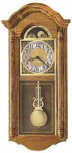 Howard Miller Fenton 620-156 Chiming Wall Clock CLICK FOR MORE DETAILS