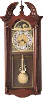 Howard Miller Fenwick 620-158 Chiming Wall Clock CLICK FOR MORE DETAILS