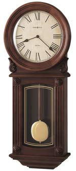Howard Miller Isabel 625-290 Chiming Cherry Wall Clock CLICK FOR MORE DETAILS