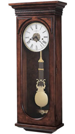 Howard Miller Earnest 620-433 Keywound Wall Clock CLICK FOR MORE DETAILS