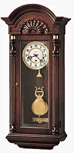 Howard Miller Jennison 612-221 Keywound Wall Clock CLICK FOR MORE DETAILS