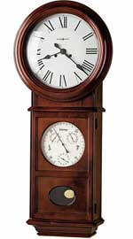 Howard Miller Lawyer II 620-249 Keywound Wall Clock CLICK FOR MORE DETAILS