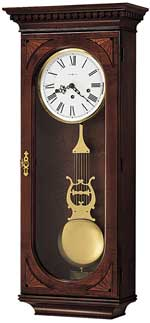 Howard Miller Lewis 613-637 Keywound Wall Clock CLICK FOR MORE DETAILS