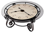 Howard Miller Ravenna 615-010 Clocktail Table Clock CLICK FOR MORE DETAILS