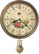 Howard Miller Savannah Botanical VII 620-440 Wall Clock CLICK FOR MORE DETAILS