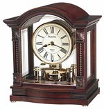 Bulova B1987 Bardwell  Mantle Clock CLICK FOR MORE DETAILS