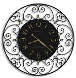 Howard Miller Joline 625-367 Scrolled Iron Wall Clock CLICK FOR MORE DETAILS