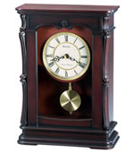 Bulova Abbeyville Chiming Mantel Clock B1909 CLICK FOR MORE DETAILS