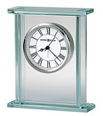 Howard Miller Cooper 645-643 Glass Table Clock CLICK FOR MORE DETAILS