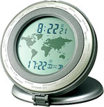 Howard Miller World Time 645-600 Travel Alarm Clock CLICK FOR MORE DETAILS