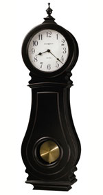 Howard Miller Dorchester 625-410 Black Chiming wall Clock CLICK FOR MORE DETAILS