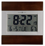 Howard Miller Techtime III 625-429 Wall or Tabletop Atomic Alarm Clock CLICK FOR MORE DETAILS