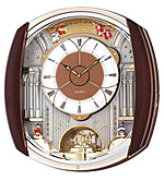 Seiko QXM450BRH Broadway Opening Dial Music in Motion Clock CLICK FOR MORE DETAILS