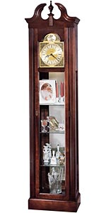 Howard Miller Cherish 610-614 Curio Grandfather Clock CLICK FOR MORE DETAILS