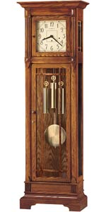Howard Miller Greene II 610-804 Mission Style Grandfather Clock CLICK FOR MORE DETAILS