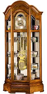 Howard Miller Majestic 610-940 Curio Grandfather Clock CLICK FOR MORE DETAILS