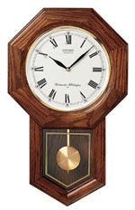 Seiko QXH102BC Schoolhouse Wall Clock CLICK FOR MORE DETAILS