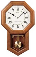 Seiko QXH110BLH Chiming Schoolhouse Clock CLICK FOR MORE DETAILS