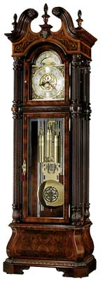 Howard Miller J.H. Miller II 611-031 Tubular Chime Grandfather Clock CLICK FOR MORE DETAILS