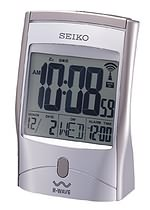 Seiko QHR001SLH RWAVE Atomic Alarm Clock CLICK FOR MORE DETAILS