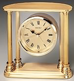 Seiko QHE101GL Engraved Desk Clock CLICK FOR MORE DETAILS