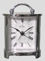 Bulova B2634 Regent Carriage Desk / Alarm Clock CLICK FOR MORE DETAILS