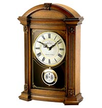 Bulova Allerton B7653 Chiming Mantel Clock CLICK FOR MORE DETAILS