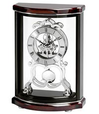 Bulova Wentworth B2025 Skeleton Mantel Clock CLICK FOR MORE DETAILS