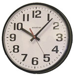 Accutex 12 Inch Battery Powered Commercial Wall Clock CLICK FOR MORE DETAILS