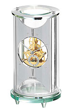 Seiko QHG035SLH Contemporary Mantel Clock CLICK FOR MORE DETAILS