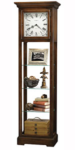Howard Miller LeRose 611-148 Quartz Curio Grandfather Clock CLICK FOR MORE DETAILS