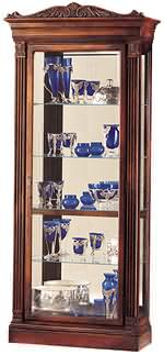 Howard Miller Embassy 680-243 Cherry Collectors Cabinet CLICK FOR MORE DETAILS