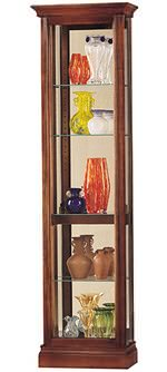 Howard Miller Gregory 680-245 Cherry Curio Cabinet CLICK FOR MORE DETAILS