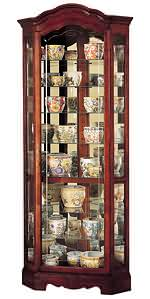 Howard Miller Jamestown 680-249 Corner Curio Cabinet CLICK FOR MORE DETAILS