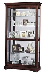 Howard Miller Dublin 680-337 Cherry Curio Cabinet CLICK FOR MORE DETAILS