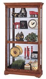 Howard Miller Donegal 680-339 Oak Curio Cabinet CLICK FOR MORE DETAILS