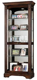 Howard Miller Ricardo 680-420 Cherry Curio Cabinet CLICK FOR MORE DETAILS